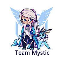 Team Mystic Chibi Photographic Print