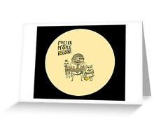 foster the people houdini Greeting Card