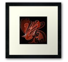 La Vie en Marron Framed Print