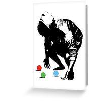 Not A Good Juggler Greeting Card