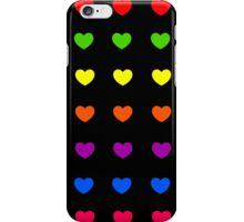 Rainbow Hearts iPhone Case/Skin