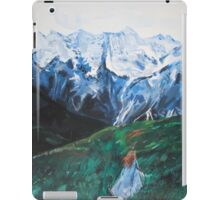 She Was At The Beginning of Something Great iPad Case/Skin