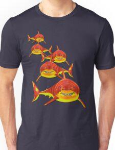 Haie - sharks version 2 Unisex T-Shirt
