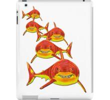 Haie - sharks version 2 iPad Case/Skin