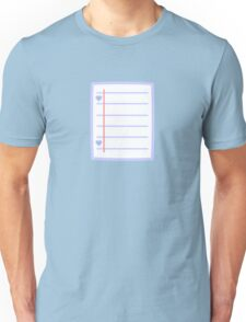 Cute paper Unisex T-Shirt