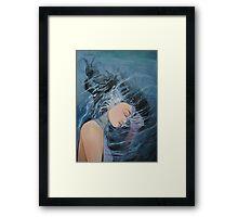 Her Cure Framed Print