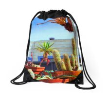 City Garden Drawstring Bag