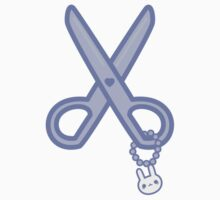 Cute scissors Baby Tee