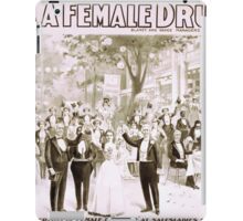 Performing Arts Posters Blaneys extravaganza success A female drummer 2000 iPad Case/Skin