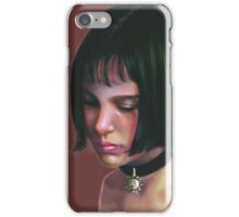 Mathilda. iPhone Case/Skin