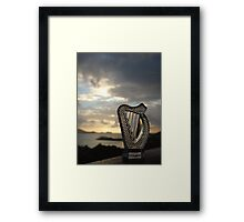 Crystal Harp at Sea Framed Print