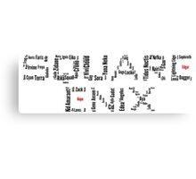Square Enix Canvas Print