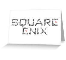 Square Enix Greeting Card