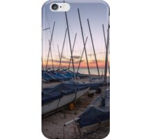 Whitstable yacht club iPhone Case/Skin