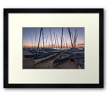 Whitstable yacht club Framed Print