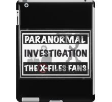 official the x-files fans facebook group iPad Case/Skin