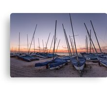 Whitstable yacht club Canvas Print