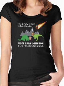 Vote Gary Johnson for President 2016 Women's Fitted Scoop T-Shirt