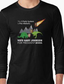 Vote Gary Johnson for President 2016 Long Sleeve T-Shirt