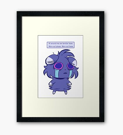 Espurr's World Framed Print