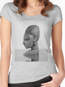 African Girl Women's Fitted Scoop T-Shirt
