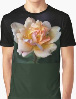 Lone Peach Rose Graphic T-Shirt
