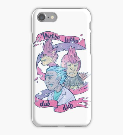 Wubba Lubba Dub Dub iPhone Case/Skin