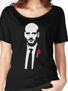 Funny Pep Guardiola the Godfather Women's Relaxed Fit T-Shirt