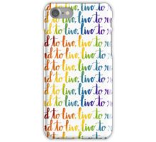 Read to Live iPhone Case/Skin