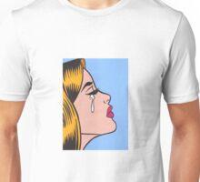 Crying Ginger Comic Girl Unisex T-Shirt