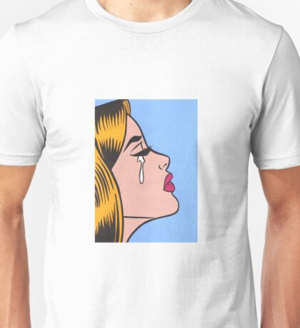 Crying Ginger Comic Girl Unisex T-Shirt