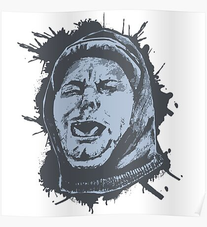 Ethan Coughing Splatter (H3H3) Poster