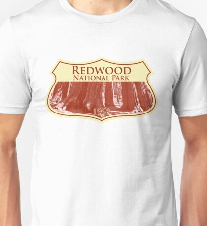 Redwood National Park Unisex T-Shirt