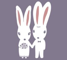 Some Bunnies Getting Married Kids Clothes