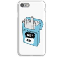 The Fault in Our Stars Okay Cigarette Box iPhone Case/Skin