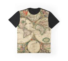 Map of the World (1689) Graphic T-Shirt