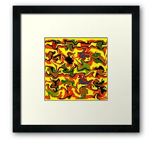 Autumn abstractions Framed Print