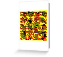 Autumn abstractions Greeting Card