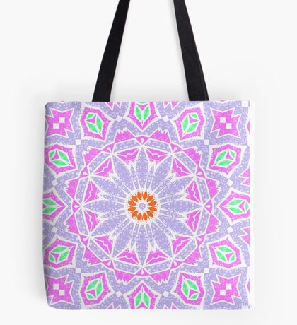 Seamless pattern east ornament with colorful details print, elegant with oriental ornaments Tote Bag