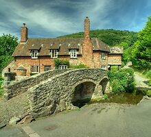 Allerford Pack Horse Bridge  by Rob Hawkins