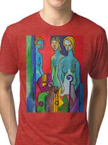 Three Muses Tri-blend T-Shirt