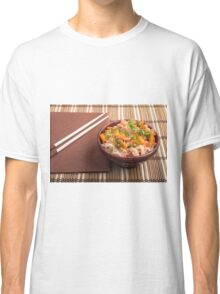 One serving of rice vermicelli hu-teu with vegetables Classic T-Shirt