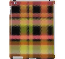 Seamless retro textile tartan checkered texture plaid pattern print iPad Case/Skin