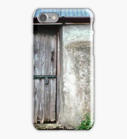 Old shed - Ramelton, County Donegal, Ireland iPhone Case/Skin