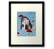 cloudy mind Framed Print