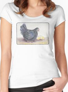 Cluck Cluck Women's Fitted Scoop T-Shirt