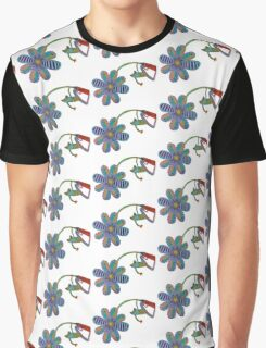 froggy flower Graphic T-Shirt