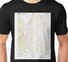 USGS TOPO Map Arizona AZ Hunters Point 20111028 TM Unisex T-Shirt