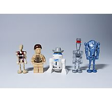 The droids you are looking for Photographic Print