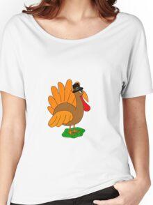 Thanksgiving turkey - transparent Women's Relaxed Fit T-Shirt